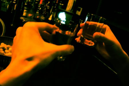 ゲンシさんと朝まで飲む・・・